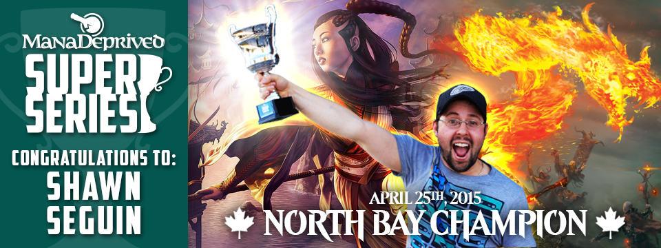 Shawn Seguin Wins MDSS 2015 North Bay!