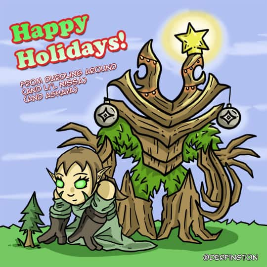 Happy Holidays from Durdling Around!