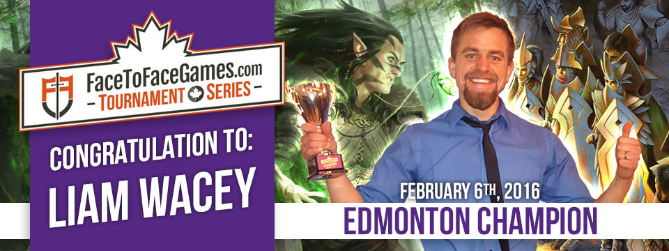 Liam Wacey Wins the FacetoFaceGames.com Edmonton Open!