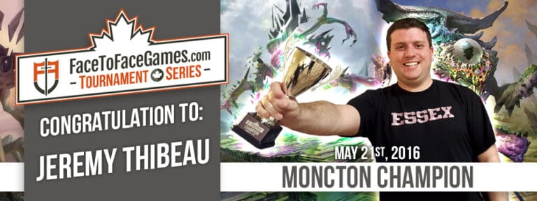 Jeremy Thibeau Wins Moncton Open!