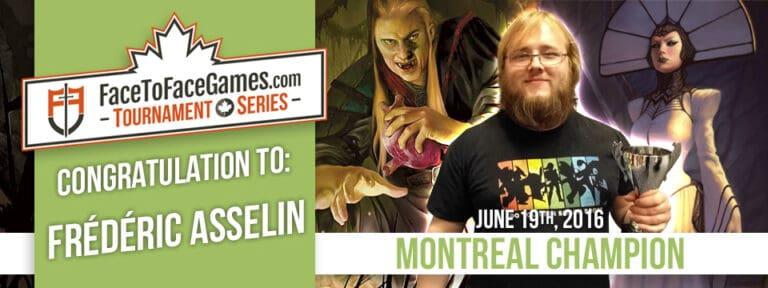 Frédéric Asselin Wins Montreal Open!