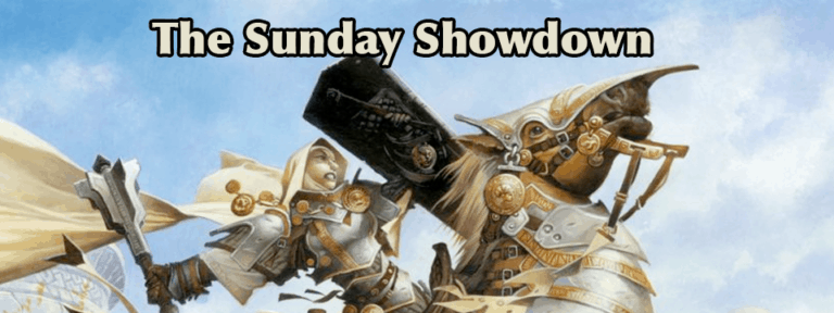 Sunday Showdown: The Results