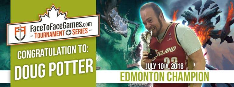 Doug Potter is the Edmonton Open Champion!