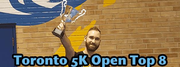 FaceToFaceGames.com Toronto 5K Open Top 8