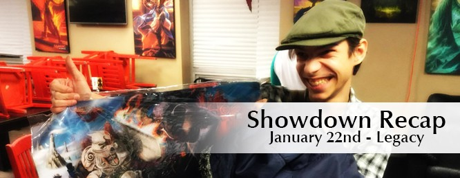 Showdown Recap: Jan 22nd – Legacy