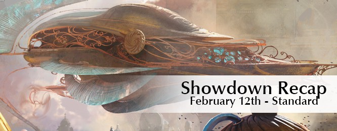 Showdown Recap: Feb 12th – Standard