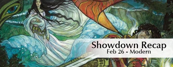 Showdown Recap: Feb 26th – Modern