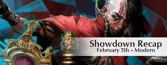 Showdown Recap: Feb 5th – Modern