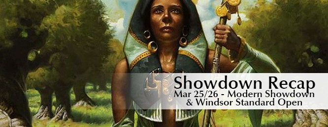 Showdown Recap: March 25-26 – Windsor Standard Open and Modern