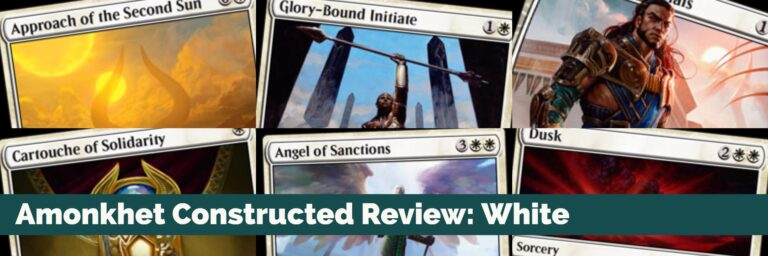 Amonkhet Constructed Review: White