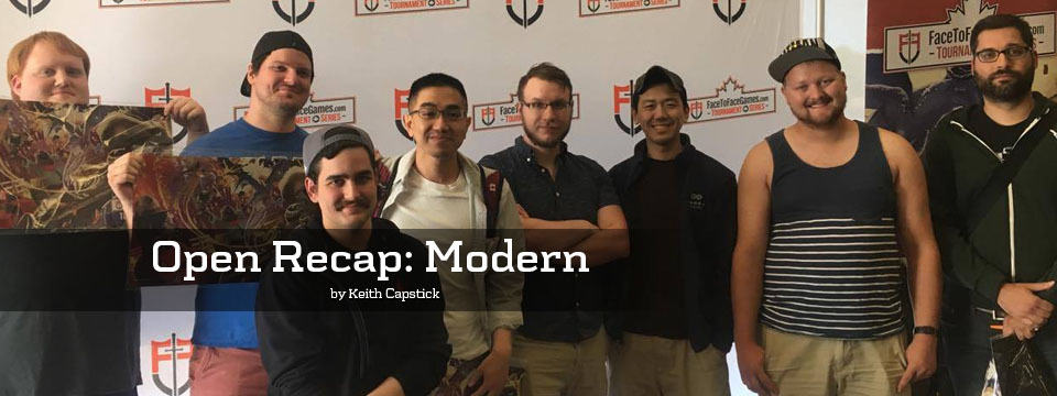 Face to Face Games Open Recap: Modern in Niagara