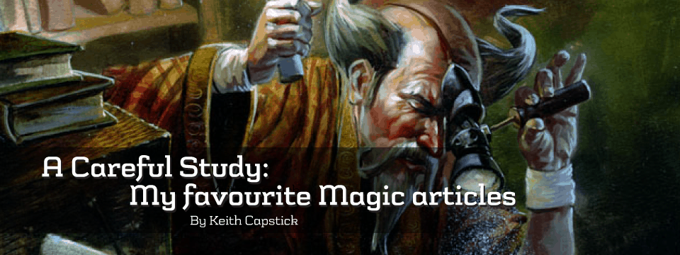 A Careful Study: My favourite Magic articles