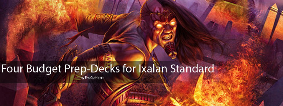 DEAL: Four Cheap Prep-Decks for Ixalan Standard