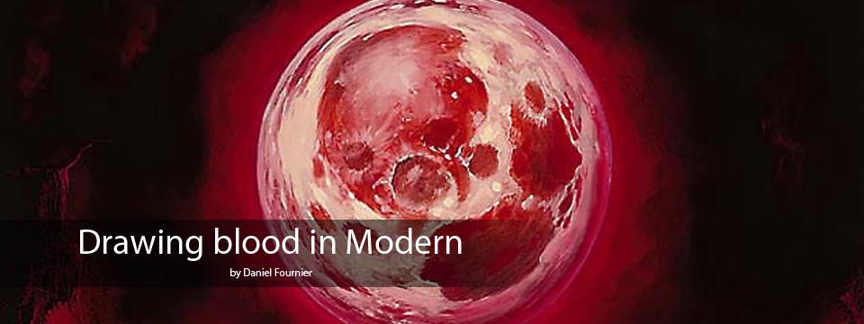 Drawing Blood in Modern