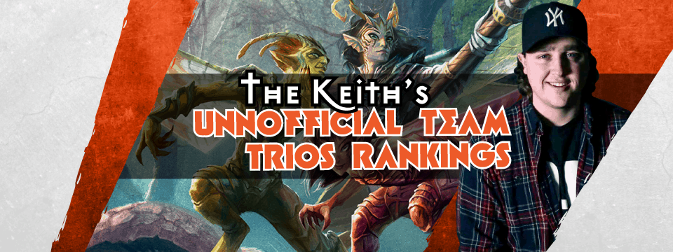 The unofficial Team Trios Open rankings (based on nonsense)