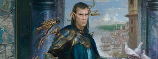 Edric, Spymaster of Trest by Volkan Baga