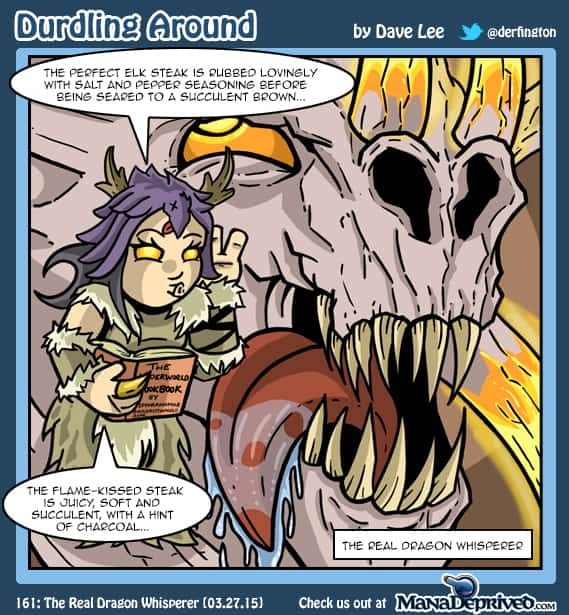 Durdling Around 161 – The Real Dragon Whisperer