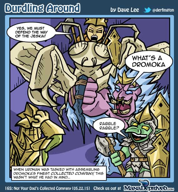 Durdling Around 165 – Not Your Dad's Collected Company