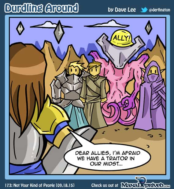 Durdling Around 173 – Not Your Kind of People