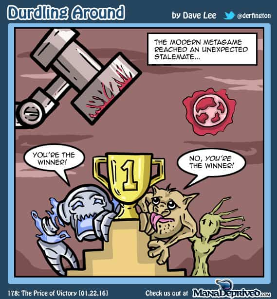 Durdling Around 178 – The Price of Victory