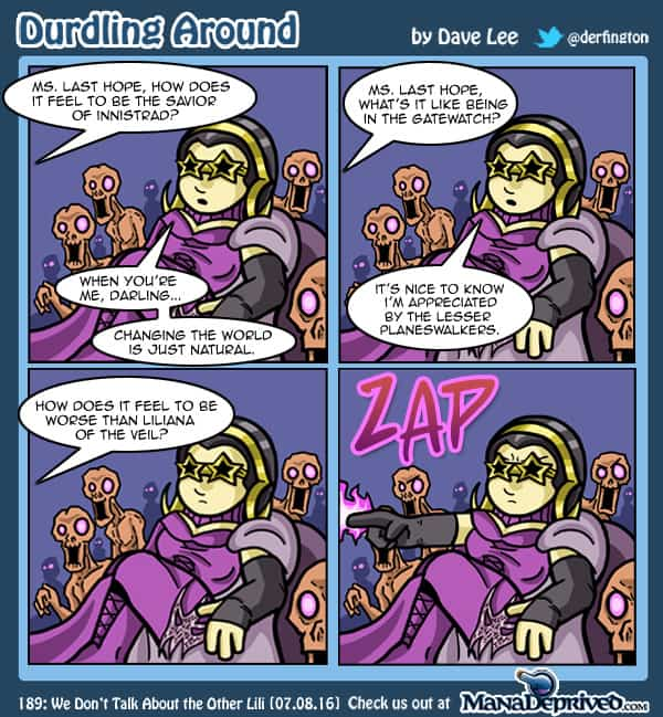 Durdling Around 189 – We Don't Talk About the Other Lili