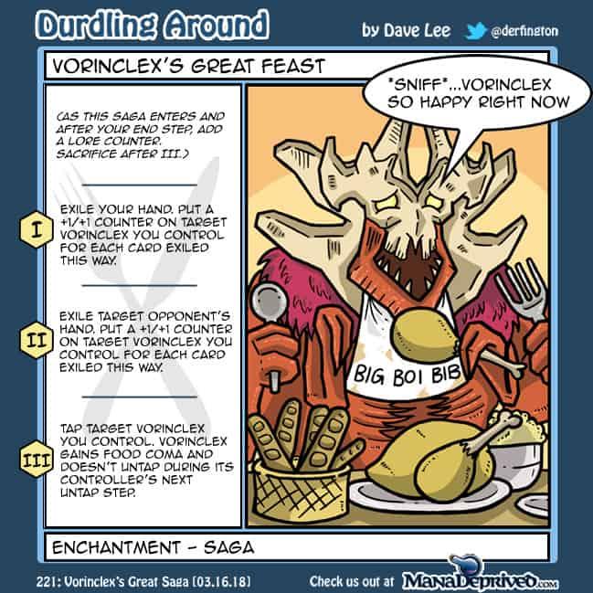 Durdling Around 221 – Vorinclex's Great Saga