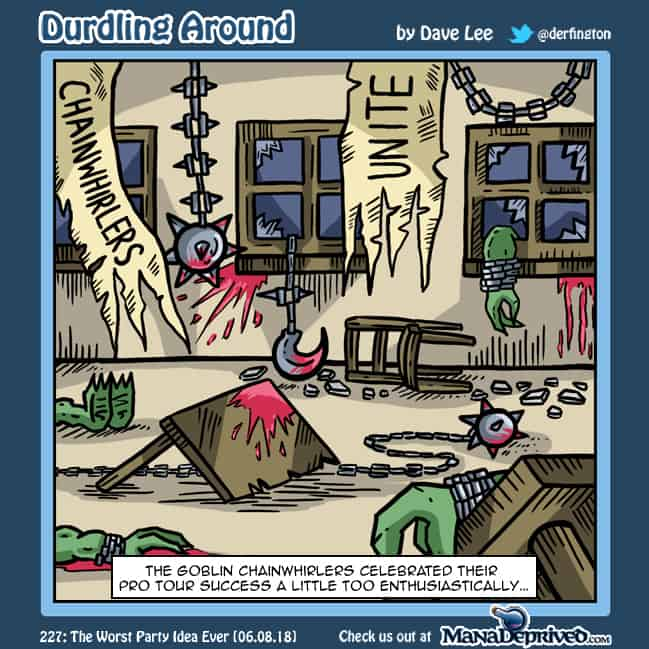 Durdling Around 227 – The Worst Party Idea Ever