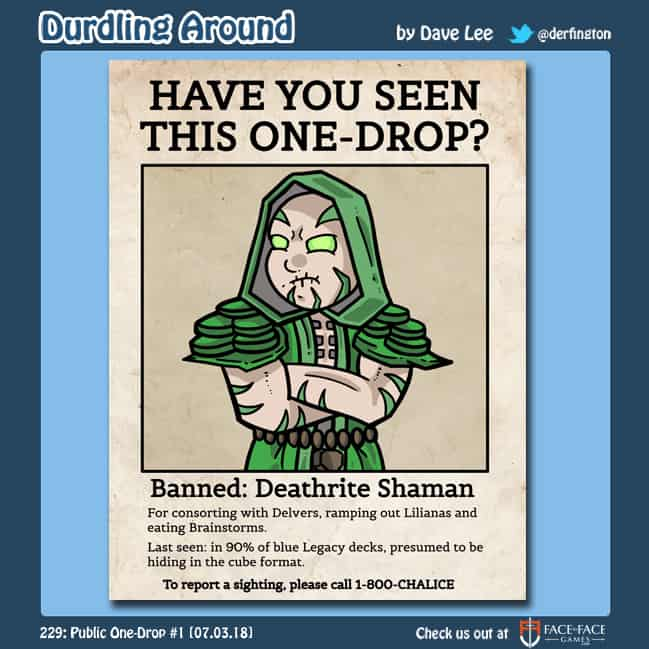 Durdling Around 229 – Public One-Drop #1