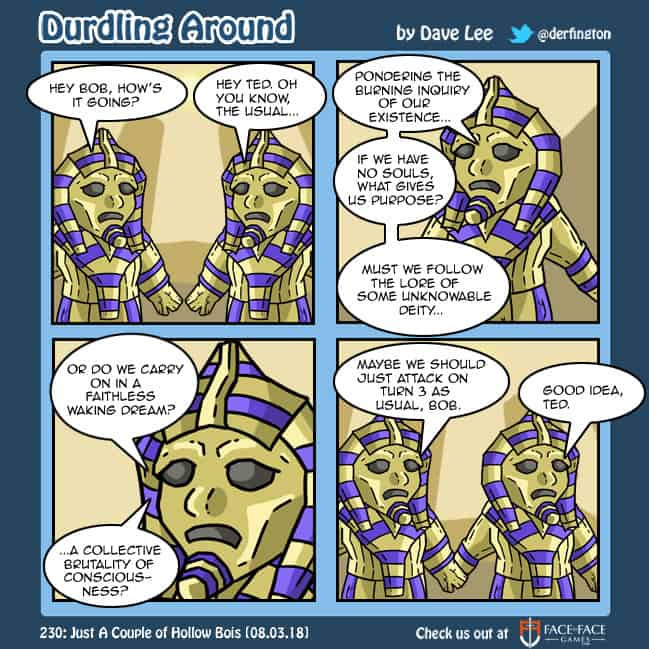 Durdling Around 230 – Just A Couple of Hollow Bois
