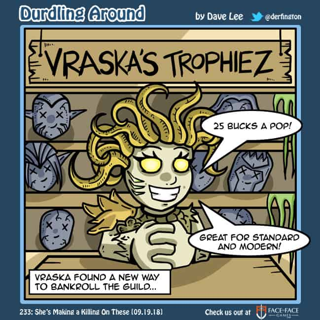 Durdling Around 233 – She's Making a Killing on These