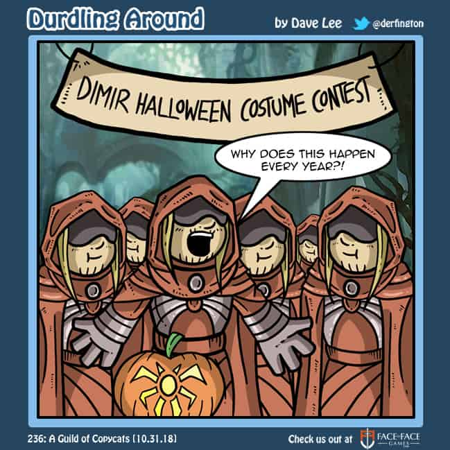 Durdling Around 236 – A Guild of Copycats