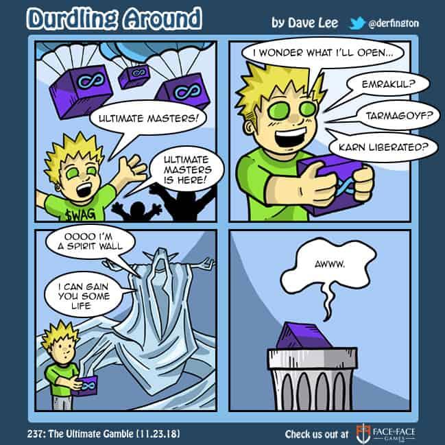 Durdling Around 237 – The Ultimate Gamble