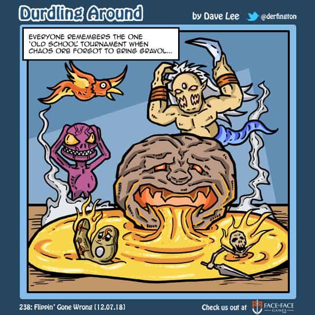 Durdling Around 238 – Flippin' Gone Wrong