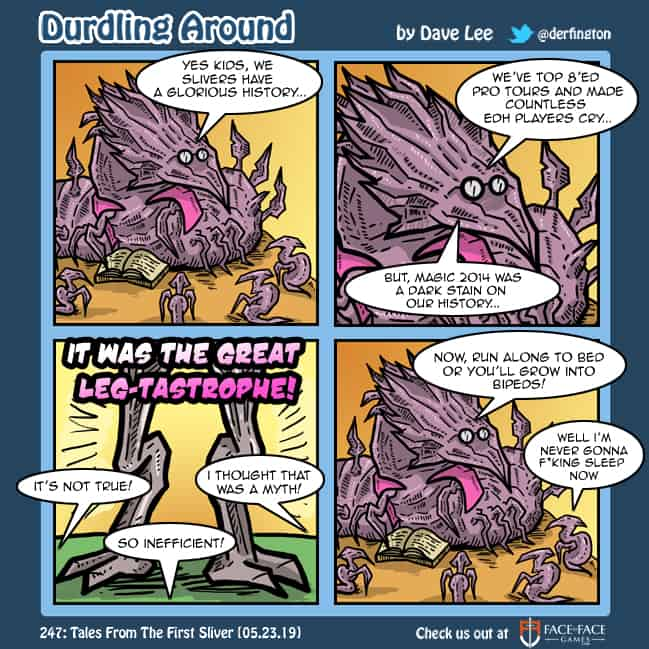 Durdling Around 247 – Tales From The First Sliver