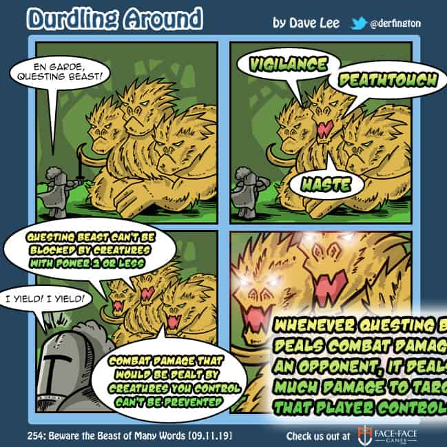 Durdling Around 254 – Beware the Beast of Many Words