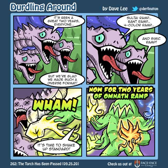 Durdling Around 262 – The Torch Has Been Passed