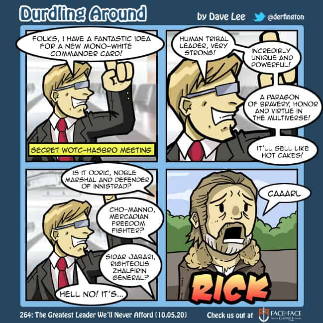 Durdling Around 264 – The Greatest Leader We'll Never Afford