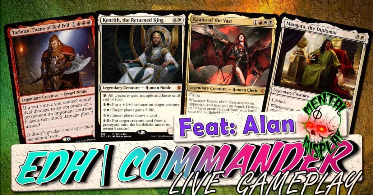 Wednesday Night Live 30 Feat. @Mental Misplay | MTG EDH | Commander Gameplay