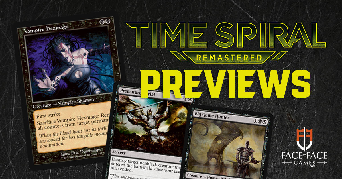 Exclusive Time Spiral Remastered Spoilers!