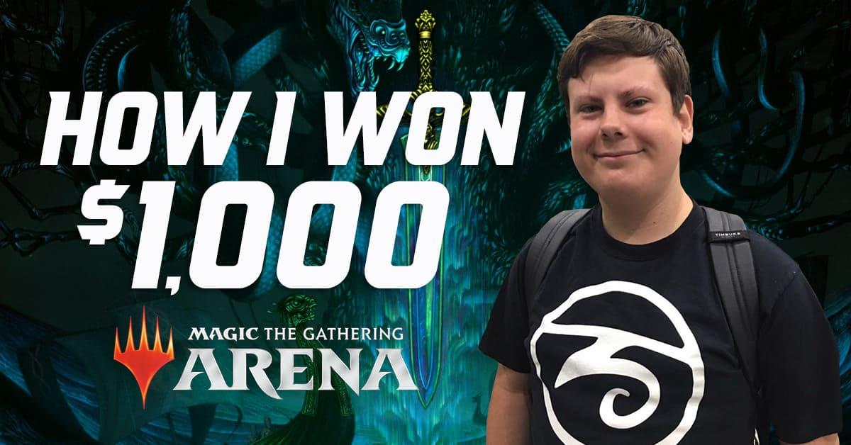 Winning 1k in the Arena Open