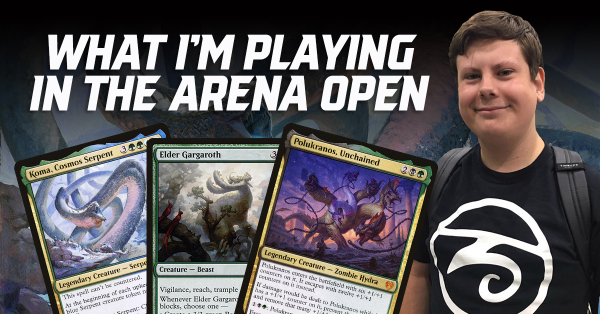 What I'm Playing in the Arena Open