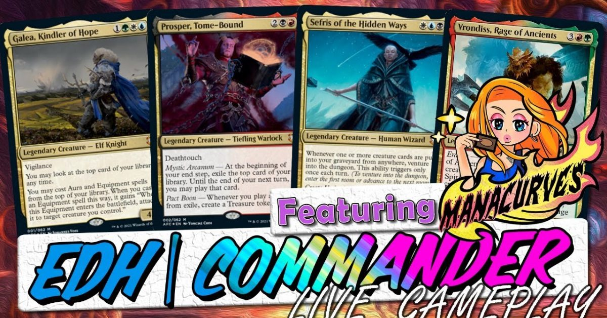 WNL 42 Ft. @ManaCurves | Adventures in the Forgotten Realms | LIVE Commander | MTG EDH
