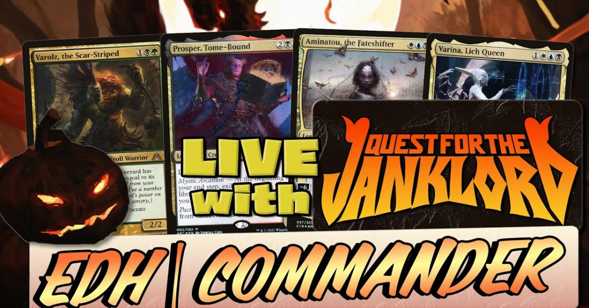 WNL 46 Ft. Joe @QUEST FOR THE JANKLORD | Commander | MTG EDH Gameplay