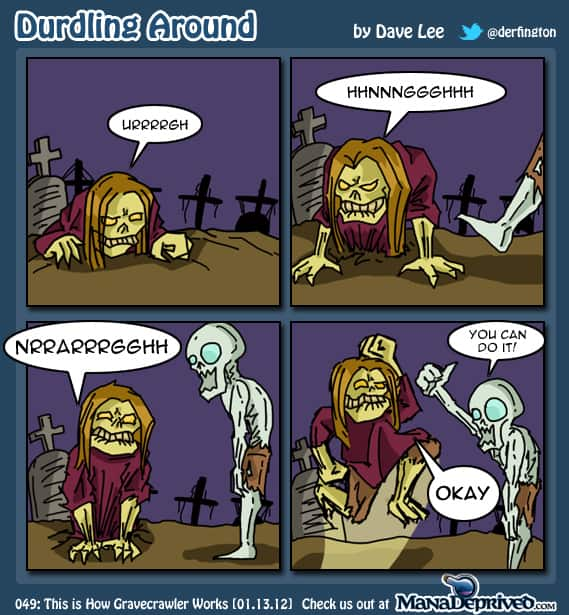 Durdling Around #49 – This is How Gravecrawler Works