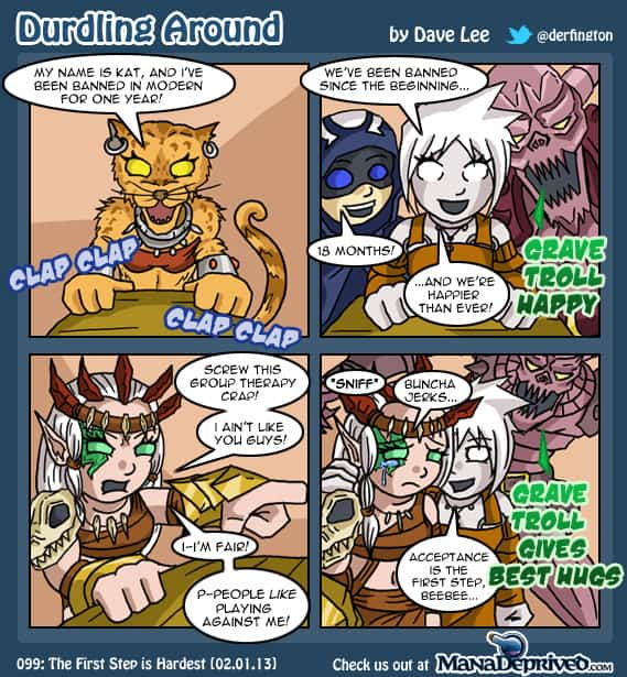 Durdling Around #99 – The First Step is Hardest