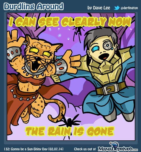Durdling Around 132 – Gonna be a Sun-shiny Day