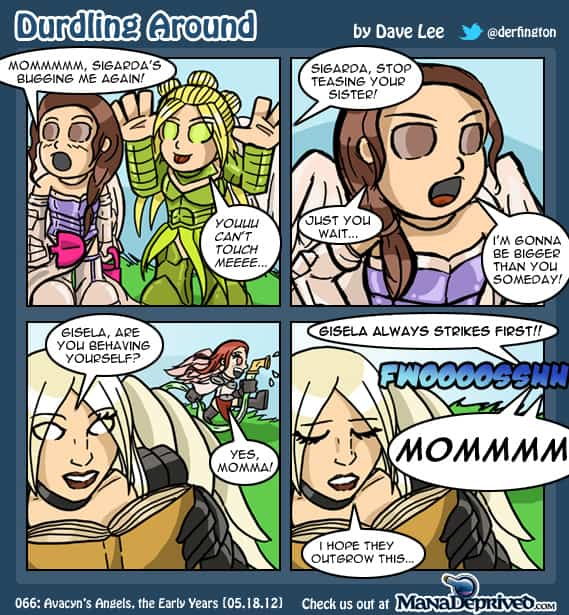 Durdling Around – Avacyn's Angels, The Early Years