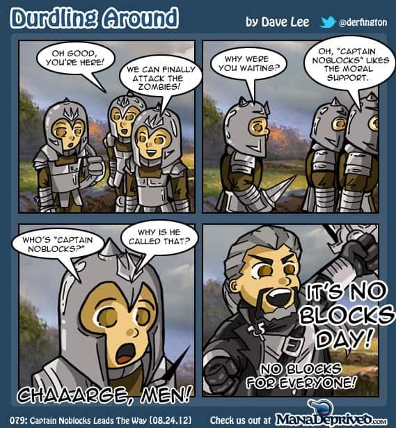 Durdling Around – Captain Noblocks Leads the Way
