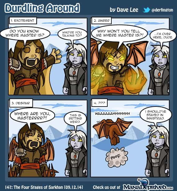 Durdling Around 147 – The Four Stages of Sarkhan