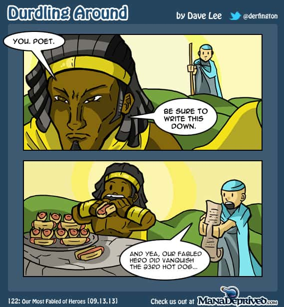 Durdling Around 122 – Our Most Fabled of Heroes